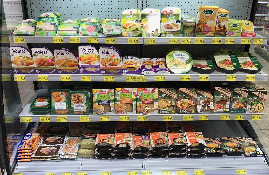 Große Auswahl an veganen Produkten bei Benny